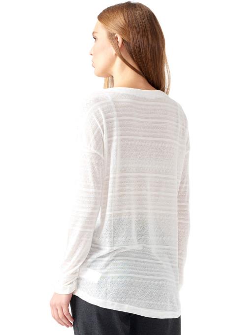 Дамска блуза свободен модел XINT 131 - цвят екрю B