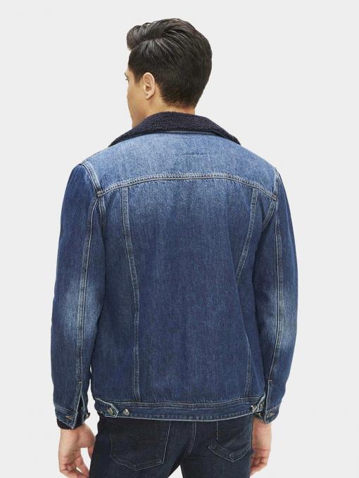 Мъжко дънково яке 190421-78 INDIGO Fashion