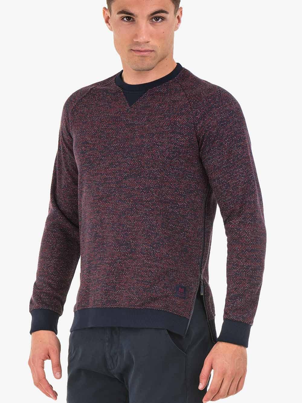 27e5f9635b5 Мъжки пуловер MCL - бордо   Пуловери от INDIGO Fashion